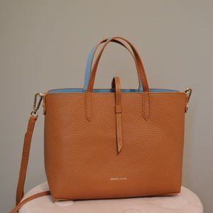 Leather Reversible Mini Tote